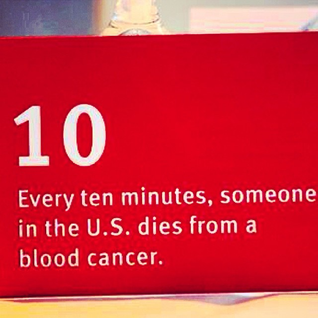 Monday Marrow Fact : Every 10 minutes, someone in the USA dies from a blood cancer. #deletebloodcancer #getonthelist #lovehopestrength