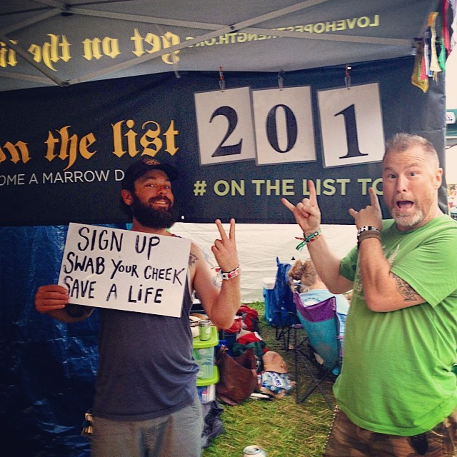 We signed up 201 fans at @floydfestva so far !!! Let's double this number by Sunday!!! #floydfest13 #floydfest @bgray007