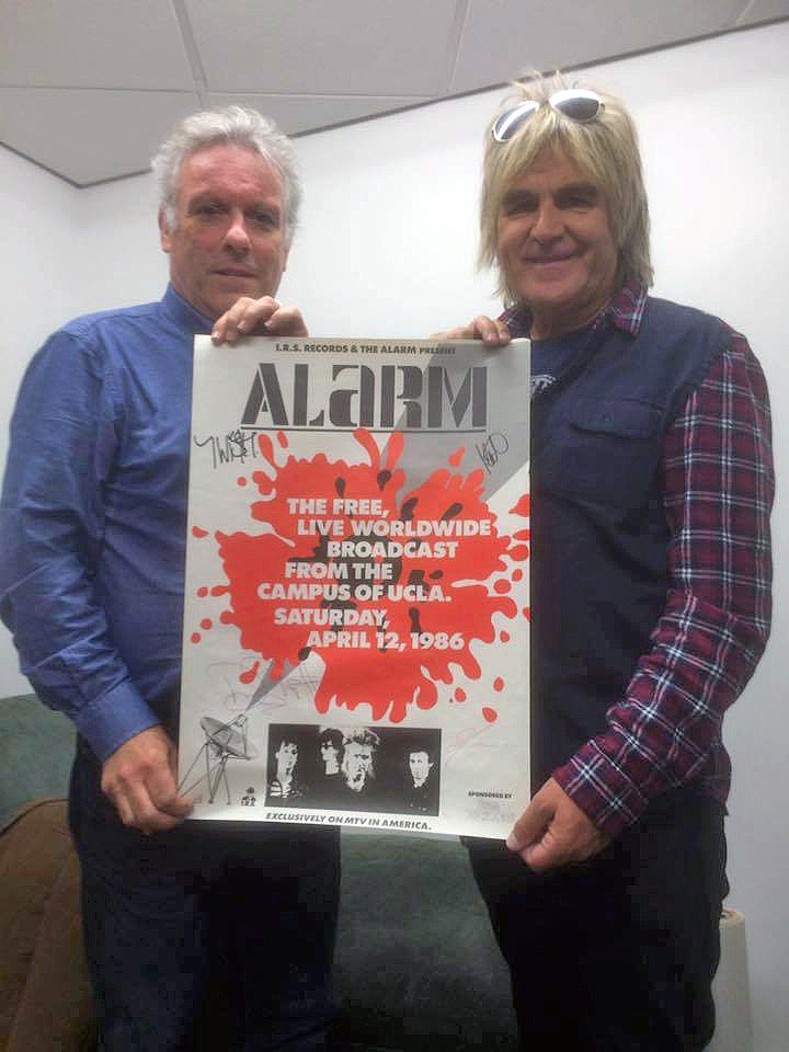 Alarm poster auction raises £2000 – Love Hope Strength
